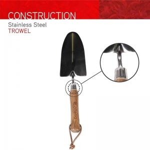 stainless steel hand trowel